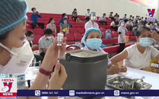 Bình Định tiêm vắc xin COVID-19 đợt 3 cho 40.000 người