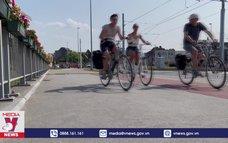 Thói quen đi xe đạp của người Bỉ