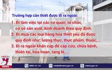 Đà Nẵng nhắc nhở người dân ra đường không đúng quy định