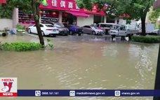 Trung Quốc nâng cảnh báo bão In-Fa lên mức cao nhất