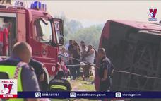 Hơn 50 người thương vong trong vụ tai nạn xe khách tại Croatia