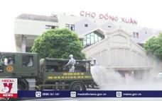 Phun khử khuẩn diện rộng tại TP Hà Nội