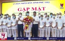 52 cán bộ Y tế Phú Thọ lên đường hỗ trợ Bình Dương chống dịch