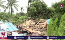 Dông lốc gây nhiều thiệt hại tại Kiên Giang