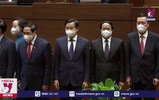 Quốc hội phê chuẩn bổ nhiệm 4 Phó Thủ tướng và các Bộ trưởng, trưởng ngành