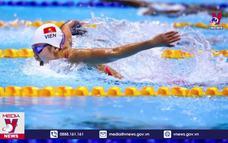 Kình ngư Ánh Viên tranh tài ở nội dung 800m tự do nữ