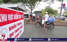 Người dân Hậu Giang chấp hành nghiêm khung giờ đi chợ