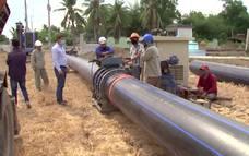 Khắc phục tình trạng thiếu nước sinh hoạt vùng hạn mặn