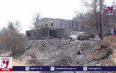 Cháy rừng nghiêm trọng tại CH Cyprus
