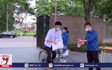 Sôi động các hoạt động tiếp sức mùa thi tại Bắc Ninh