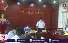 Đoàn công tác của Bộ Y tế làm việc tại tỉnh Hậu Giang