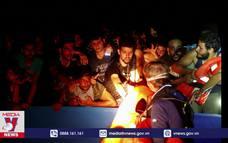Giải cứu gần 400 người di cư trái phép