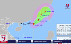 Cơn bão số 4 trên biển Đông
