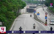 Bắt đầu cấm một chiều lưu thông qua hầm Kim Liên