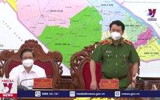 Lực lượng Công an tăng cường chống dịch tại Cần Thơ