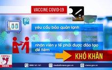 Tương lai vaccine COVID-19: Dạng uống, hít và xịt mũi