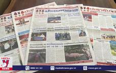 Báo chí Lào ca ngợi mối quan hệ Lào - Việt Nam