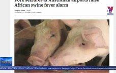 Australia tăng cường kiểm soát ngăn dịch tả lợn châu Phi