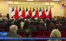 Trung Quốc, Pháp ký các thỏa thuận trị giá 15 tỷ USD