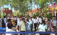 Ngày hội Đại đoàn kết toàn dân tộc tại ấp Sóc Chà B, tỉnh Trà Vinh
