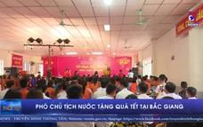 Phó Chủ tịch nước tặng quà Tết tại Bắc Giang