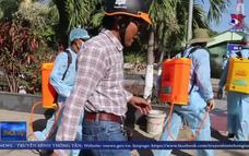Trà Vinh tiêu độc khử trùng trường học phòng dịch nCoV