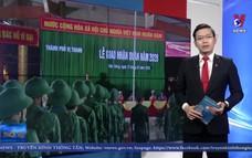 Hậu Giang tổ chức lễ giao nhận quân năm 2020