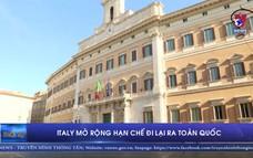 Italy mở rộng hạn chế đi lại ra toàn quốc