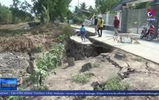 Sụt lún, sạt lở đất nghiêm trọng tại U Minh Thượng