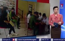 Công an tỉnh Vĩnh Phúc tham gia hiến máu