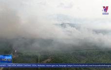 Đã dập tắt hoàn toàn vụ cháy rừng ở huyện Hòn Đất