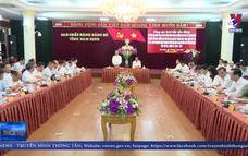 Kiểm tra công tác Đại hội Đảng bộ các cấp tại Nam Định