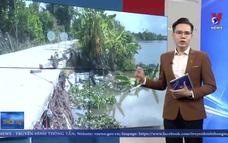 Tiếp diễn sạt lở nghiêm trọng trên sông Ba Rày