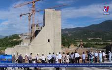 Kiểm tra thi công các dự án trọng điểm tại Ninh Thuận
