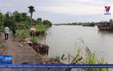 Tuyến kênh Chợ Gạo, Tiền Giang sạt lở nghiêm trọng