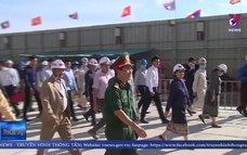 Kiểm tra tiến độ xây dựng tòa nhà Quốc hội Lào