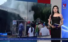 Kịp thời cứu hai trẻ em thoát khỏi đám cháy lớn