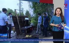 Hậu Giang hỗ trợ người dân bị thiệt hại do dông, lốc