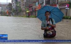 TP. Điện Biên Phủ ngập sâu trong nước do mưa lớn