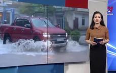Nhiều tuyến phố ở Điện Biên ngập lụt do mưa lớn