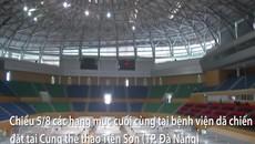 """Có gì bên trong bệnh viện dã chiến Đà Nẵng sau 72 giờ thi công """"thần tốc""""?"""