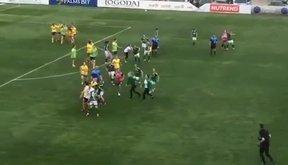Màn loạn đả trên sân bóng đá nữ tại bán kết cúp Quốc gia Bulgaria