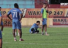 Mạc Hồng Quân quyết tâm thi đấu thành công tại Than Quảng Ninh để lọt vào mắt xanh của thầy Park