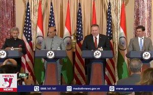 Ấn Độ - Mỹ đối thoại 2+2 cấp Bộ trưởng