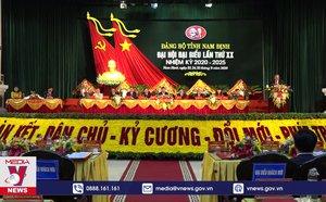 Đại hội Đảng bộ tỉnh Nam Định