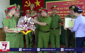 Hà Nam khen thưởng ban chuyên án triệt phá đường dây ma túy