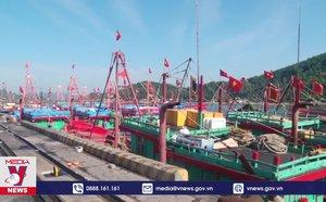 Tàu thuyền Nghệ An gặp khó trong việc neo đậu