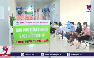 Ninh Bình tổ chức tiêm phòng COVID-19 đợt 2