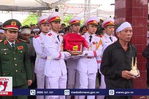 Tiễn đưa Thiếu tướng Nguyễn Hữu Hùng về với đất mẹ