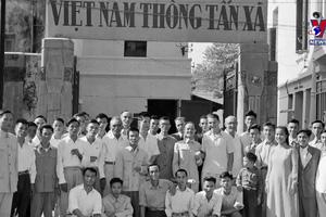 75 năm TTXVN - Dòng thông tin chính thống không ngừng chảy